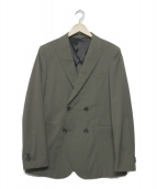 junhashimoto(ジュンハシモト)の古着「EASY DOUBLE JACKET」|オリーブ