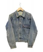 LEVIS(リーバイス)の古着「506XX 1st ヴィンテージ デニムジャケット」|ブルー