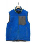 Patagonia(パタゴニア)の古着「CLASSIC RETRO-X VEST」|ブルー