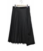 JUNYA WATANABE CDG(ジュンヤワタナベコムデギャルソン)の古着「プリーツパンツ」|ブラック