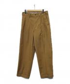SOPH.(ソフ)の古着「SLIM FIT FATIGUE PANTS」|ブラウン