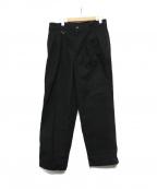 SOPH.(ソフ)の古着「SLIM FIT FATIGUE PANTS」|ブラック