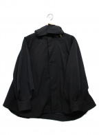 Emma Taylor(エマテイラー)の古着「MILITARY FLARE HOOD COAT」|ブラック