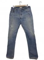 RE/DONE(リダン)の古着「リメイクデニムパンツ」 インディゴ