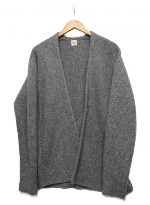 Ron Herman(ロンハーマン)Ron Herman (ロンハーマン) カシミアトッパーカーディガン グレー サイズ:Sの古着・服飾アイテム