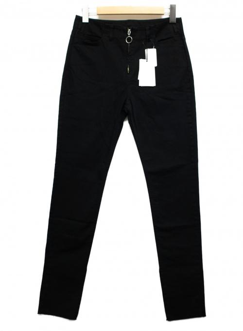 Mhairi(マイリ)Mhairi (マイリ) テーパードパンツ ブラック サイズ:38 未使用品 MB192257の古着・服飾アイテム