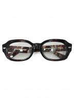 EFFECTOR(エフェクター)の古着「伊達眼鏡」 ブラウン