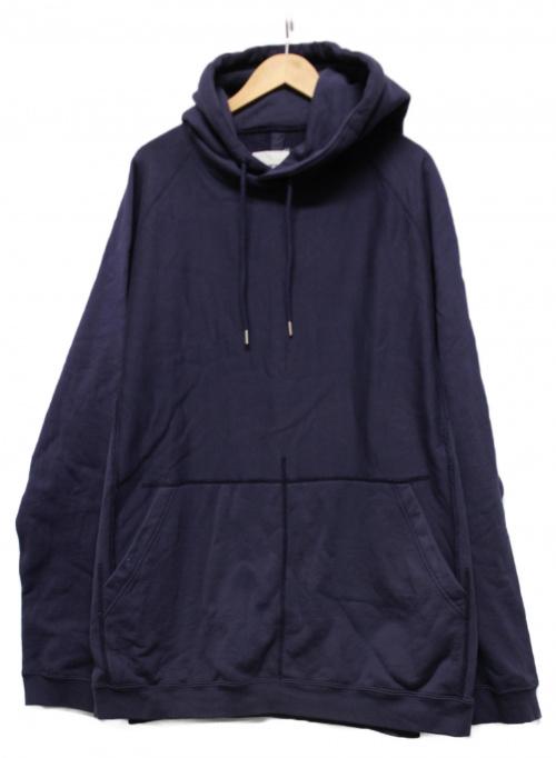 TAKAHIROMIYASHITA TheSoloIst.(タカヒロミヤシタザソロイスト)TAKAHIROMIYASHITA TheSoloIst. (タカヒロミヤシタザソロイスト) Oversized Hoodie パープル サイズ:48の古着・服飾アイテム