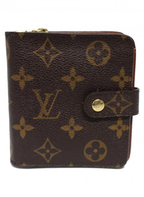 LOUIS VUITTON(ルイ ヴィトン)LOUIS VUITTON (ルイヴィトン) 2つ折り財布 ブラウン モノグラム M61667 MI0024の古着・服飾アイテム