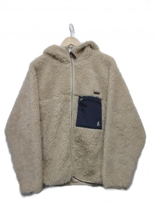 GRAMICCI(グラミチ)GRAMICCI (グラミチ) フリースジャケット ベージュ サイズ:Sの古着・服飾アイテム