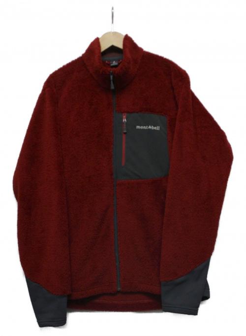 mont-bell(モンベル)mont-bell (モンベル) クリマエアジャケット レッド×グレー サイズ:Lの古着・服飾アイテム