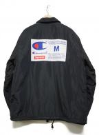 SUPREME×Champion(シュプリーム×チャンピオン)の古着「Champion Label Coaches Jacket」|ブラック