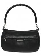()の古着「バンブーハンドバッグ」|ブラック