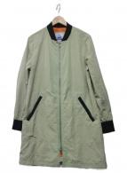 CAPE HEIGHTS(ケープハイツ)の古着「ロングブルゾン」|グリーン