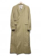 JANE SMITH(ジェーンスミス)の古着「ロングスプリングチェスターコート」|ベージュ