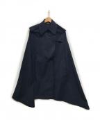 SHIZUKA KOMURO(シズカコムロ)の古着「ポンチョ」|ネイビー