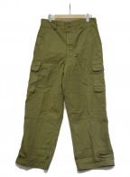 French Army(フレンチアーミー)の古着「【古着】M-47 前期型 チノカーゴパンツ」|オリーブ