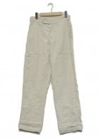 45R(フォーティファイブアール)の古着「リネンの908ベイカーパンツ」 ベージュ