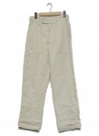 45R(フォーティファイブアール)の古着「リネンの908ベイカーパンツ」|ベージュ