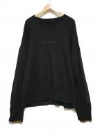 stein(シュタイン)の古着「OVERSIZED REBUILD SWEAT」|ブラック