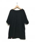 BONCOURA(ボンクラ)の古着「リバーシブル半袖Tシャツ」|ブラック