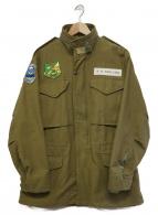 Buzz Ricksons(バズリクソンズ)の古着「M-65 JUNGLE SURVIVAL SCHOOL」|オリーブ