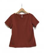 49AV junko shimada(ジュンコシマダ)の古着「キョウネンポンチTシャツ」|ブラウン