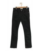 ()の古着「スキニーパンツ」 ブラック