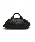 ()の古着「ナッパアイレハンドバッグ」 ブラック
