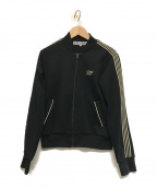 COMME des GARCONS COMME des GARCONS()の古着「ロゴ刺繍トラックジャケット」 ブラック