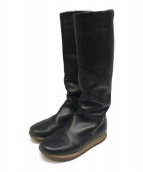 HERMES(エルメス)の古着「ロングブーツ」|ブラック