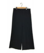 NEMIKA(ネミカ)の古着「ジャージーワイドスラックス」|ブラック