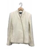 ()の古着「ベルトツキジャケット」|ホワイト