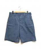 ATLAST & CO(アットラスト)の古着「HBTショートパンツ」 ブルー