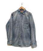 RHC Ron Herman(RHCロンハーマン)の古着「Denim Work Shirt」|ブラック