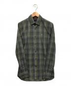VICTORINOX(ビクトリノックス)の古着「チェックシャツ」 グリーン