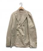 L.B.M.1911(ルビアム1911)の古着「ダブルブレストジャケット」|ベージュ