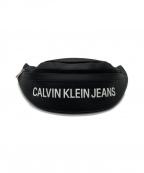 Calvin Klein Jeans(カルバンクラインジーンズ)の古着「ウエストバッグ」 ブラック