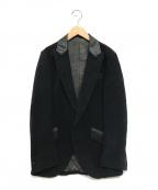 ISAMU KATAYAMA BACKLASH()の古着「モールスキンジャケット」|ブラック