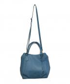 Hamano(ハマノ)の古着「2WAYバッグ」 ブルー