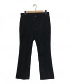 STABILIZER gnz(スタビライザージーンズ)の古着「シューカットパンツ」|ブラック