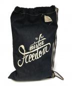 MISTER FREEDOM(ミスターフリーダム)の古着「デニムナップザック」 インディゴ
