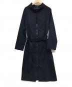 SHIZUKA KOMURO(シズカコムロ)の古着「ジップアップコート」|ネイビー