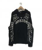 MARCELO BURLON(マルセロバーロン)の古着「プルオーバーパーカー」|ブラック