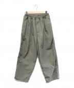 ordinary fits(オーディナリーフィッツ)の古着「ナローボールパンツ」|グレー