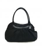 agnes b voyage(アニエスベーボヤージュ)の古着「ナイロンハンドバッグ」|ブラック