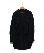 SHIZUKA KOMURO(シズカコムロ)の古着「デザインブラウス」|ブラック