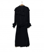 SHIZUKA KOMURO(シズカコムロ)の古着「トレンチコート」|ネイビー