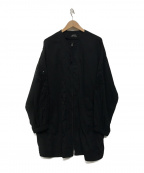 SHIZUKA KOMURO(シズカコムロ)の古着「刺繍スリーブジャケット」|ブラック