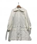 SHIZUKA KOMURO(シズカコムロ)の古着「リボンスリーブコート」|ホワイト